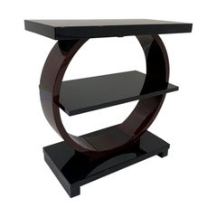 Art Deco Machine Age End Table by Modernage Furniture Company, circa 1930s