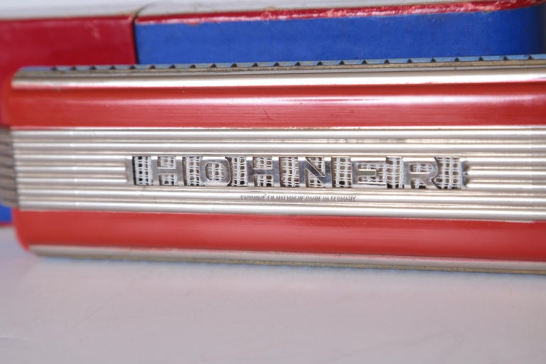 Art Deco Machine Age John Vassos Streamline Harmonica for Hohner, circa 1936 For Sale 12
