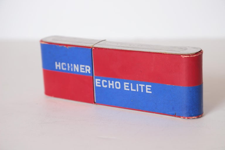 Mid-20th Century Art Deco Machine Age John Vassos Streamline Harmonica for Hohner, circa 1936 For Sale