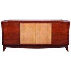 Art Deco Mahogany and Galuchat Cabinet
