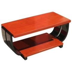 Art Deco Mahogany Coffee Table by Brown Saltman