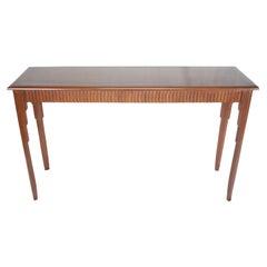 Art Deco Mahogany Console, Serving or Sofa Table