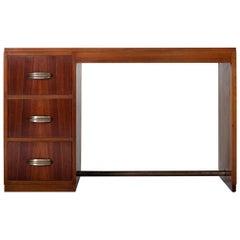 Art Deco Mahogany Desk
