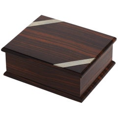 Art Deco Makassar Ebony Box