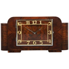 Art Deco Mantel Clock by Junghans