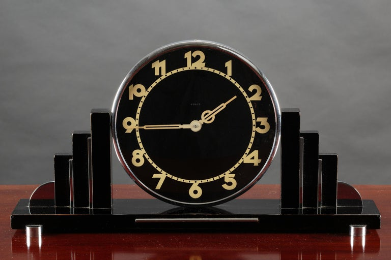 Art Deco Mantel Clock In Good Condition For Sale In Norwich, GB