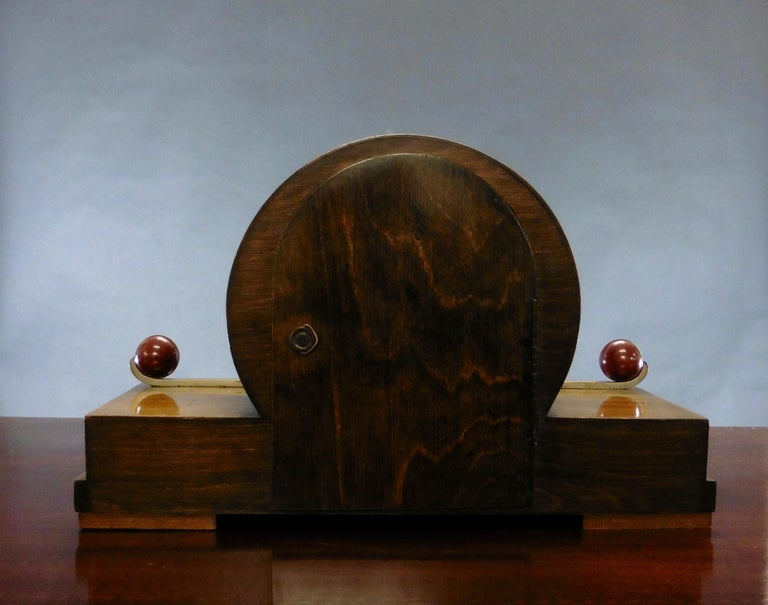 Early 20th Century Art Deco Mantel Clock For Sale