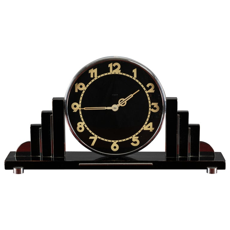Art Deco Mantel Clock For Sale