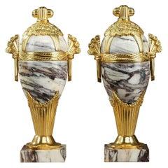 Art Deco Marble Vases
