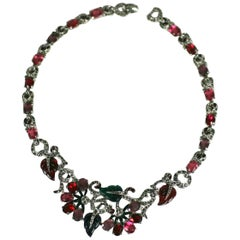 Art Deco Mazer Fruit Salad Necklace