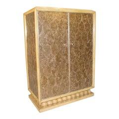 Art Deco Mica Cabinet