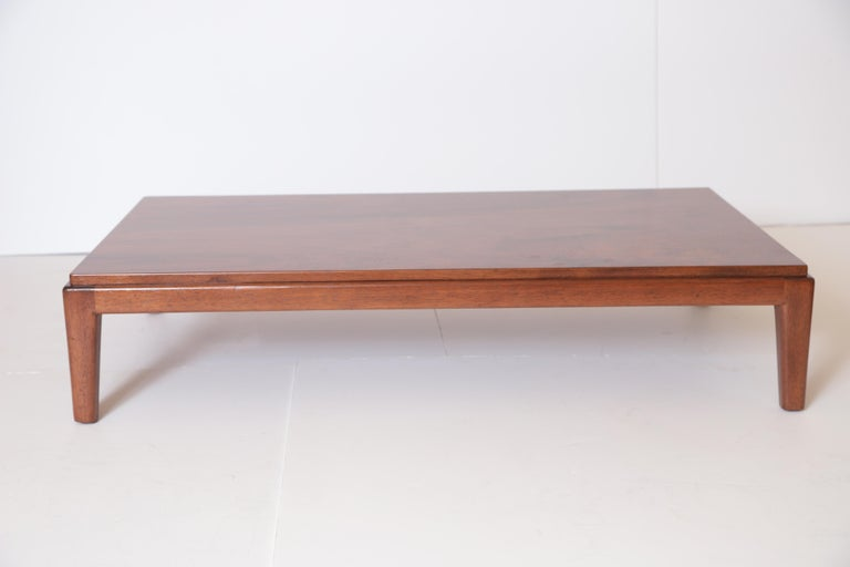 Art Deco Midcentury Low Coffee or Occasional Table by Schmieg & Kotzian For Sale 4