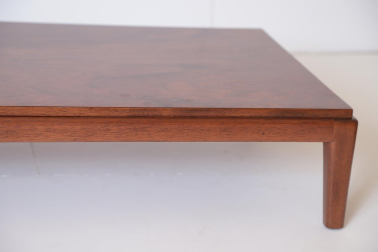 Art Deco Midcentury Low Coffee or Occasional Table by Schmieg & Kotzian For Sale 6