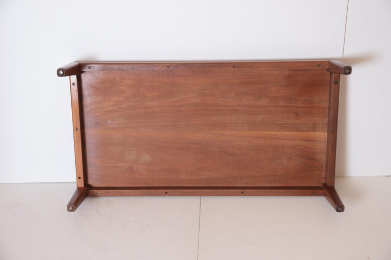 Art Deco Midcentury Low Coffee or Occasional Table by Schmieg & Kotzian For Sale 7