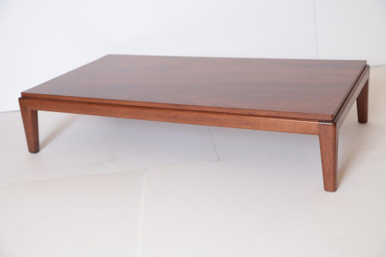 Burl Art Deco Midcentury Low Coffee or Occasional Table by Schmieg & Kotzian For Sale