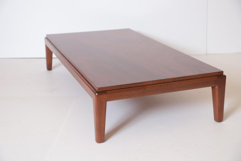 Art Deco Midcentury Low Coffee or Occasional Table by Schmieg & Kotzian For Sale 1