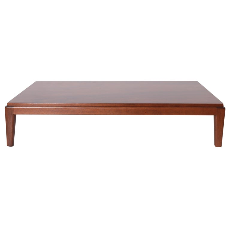 Art Deco Midcentury Low Coffee or Occasional Table by Schmieg & Kotzian For Sale