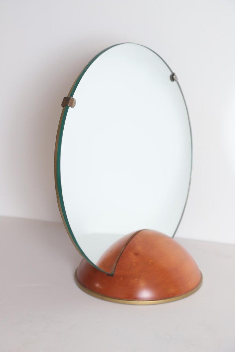 American Art Deco Mid-Century Modern Romweber Valet Mirror for Chest, Desk or Vanity For Sale