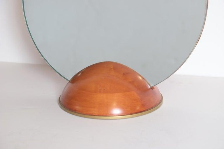 Art Deco Mid-Century Modern Romweber Valet Mirror for Chest, Desk or Vanity For Sale 1