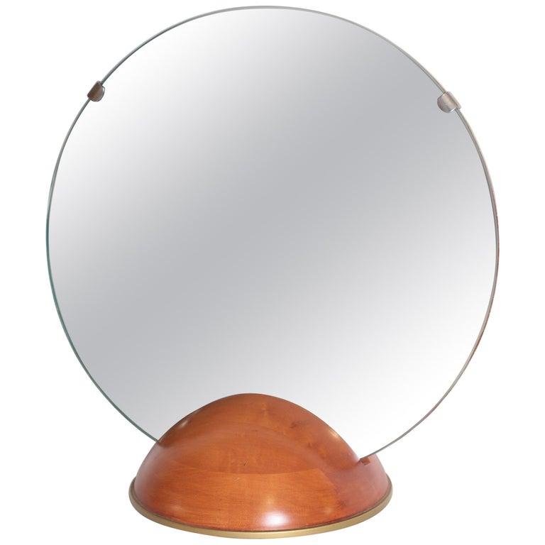 Art Deco Mid-Century Modern Romweber Valet Mirror for Chest, Desk or Vanity For Sale
