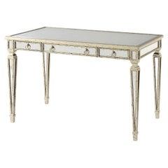 Art Deco Mirrored Desk