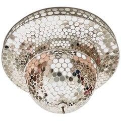 Art Deco Mirrored Disco Pendant