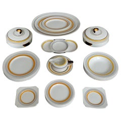 Art Deco Modernist 27-Pcs Royal Doulton England China Dinnerware Service