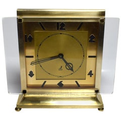 Art Deco Modernist Clock by JAZ
