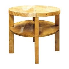Art Deco Modernist Coffee Table in Birch