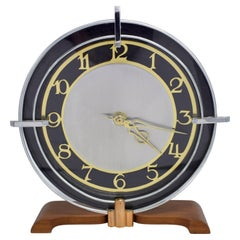 Art Deco Modernist English Clock