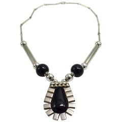 Art Deco Modernist Ladies Necklace, circa 1930s