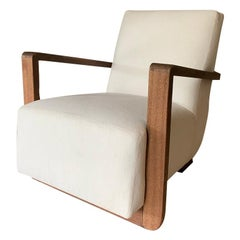 Art Deco Modernist Lounge Chair