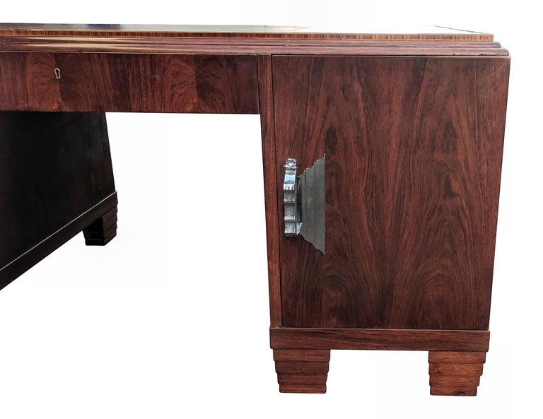 Art Deco Modernist Partners Desk, circa 1930 For Sale 2