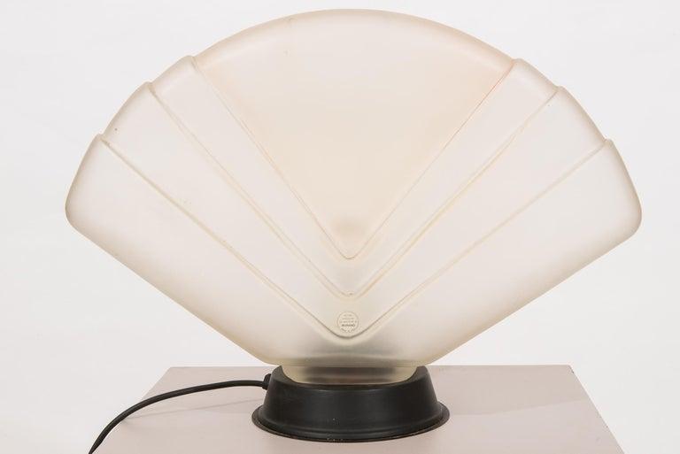 20th Century Art Deco Murano Table Lamp  For Sale