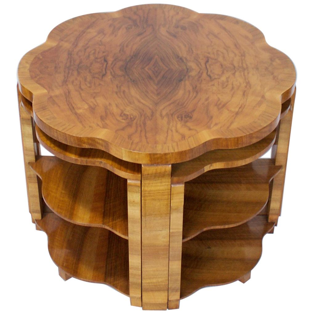 Art Deco Nest of Tables by Harry & Lou Epstein, English, circa 1930