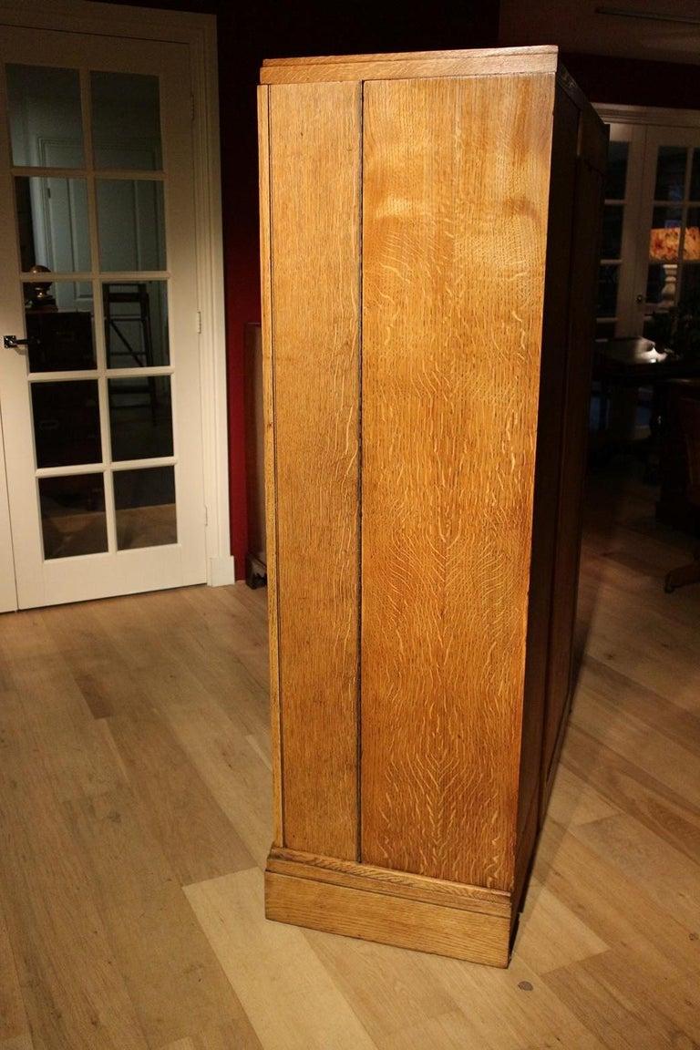 Art Deco Oak Compactom Wardrobe 11