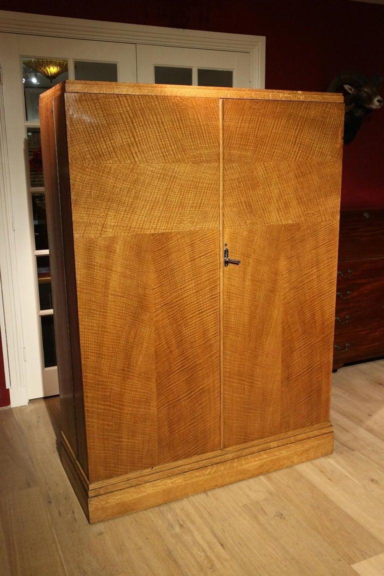 Art Deco Oak Compactom Wardrobe 13
