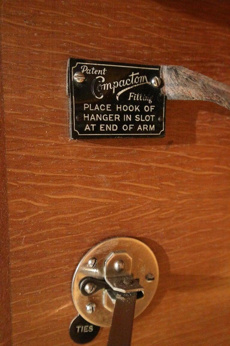 Art Deco Oak Compactom Wardrobe 14