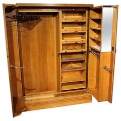 Art Deco Oak Compactom Wardrobe
