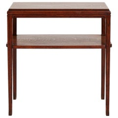 Art Deco Oak Console Table