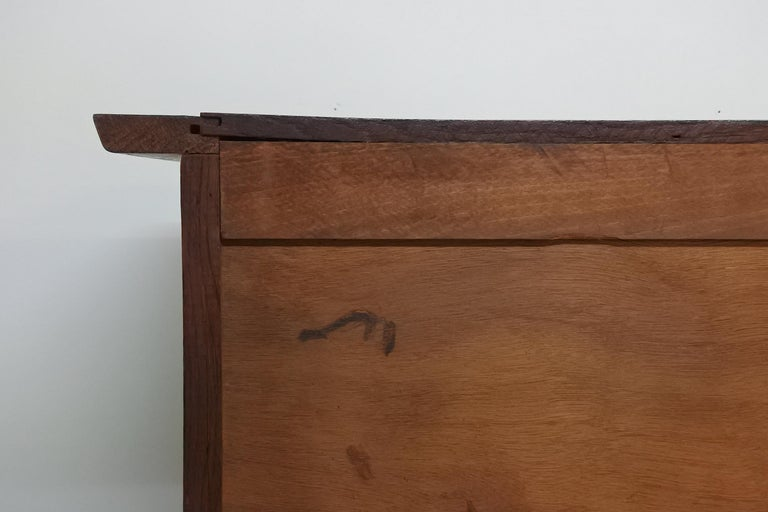 Art Deco Oak Sideboard by Charles Dudouyt, France, 1930s For Sale 12
