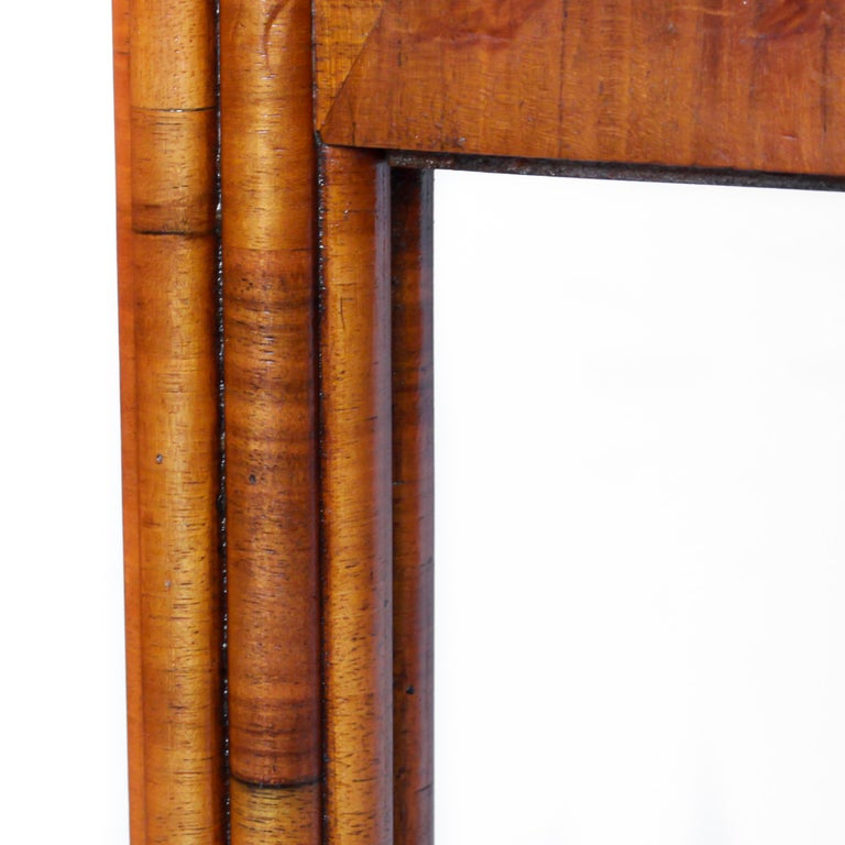 Art Deco Occasional Table Walnut with Sliding Tray and Integral Drawer 1930's For Sale 6