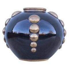 Art-Deco Odyv France Porcelain Vase