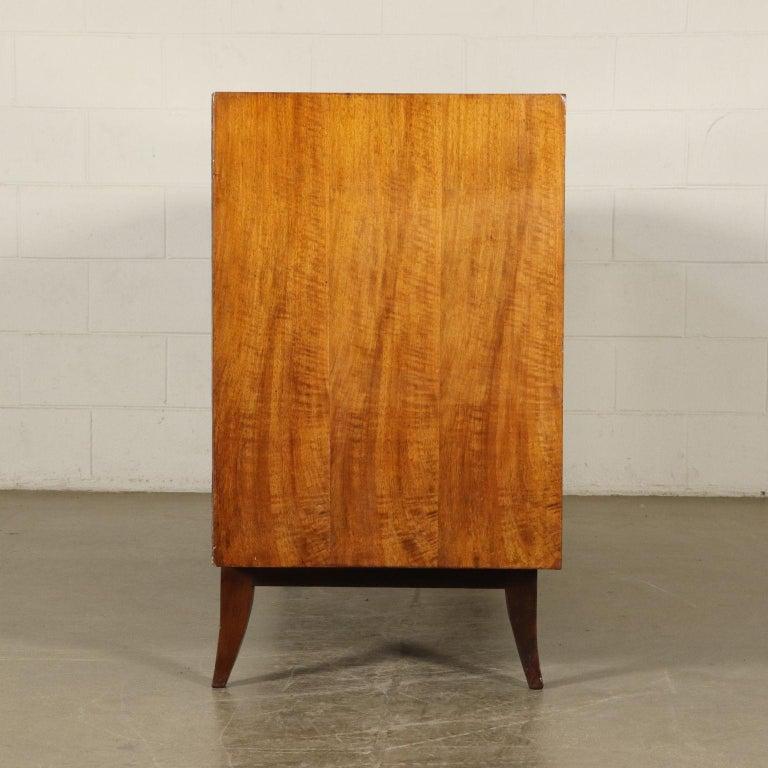Art Deco Original Italian Cabinet in Buxus and Wood, 1930s 9