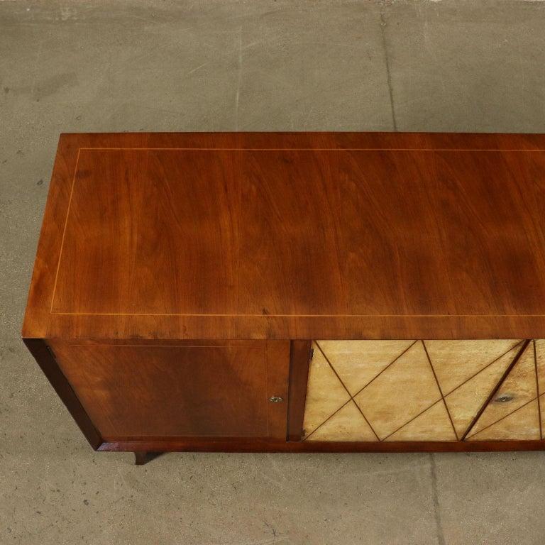 Art Deco Original Italian Cabinet in Buxus and Wood, 1930s 1