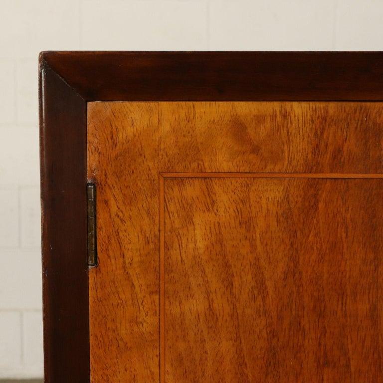 Art Deco Original Italian Cabinet in Buxus and Wood, 1930s 3