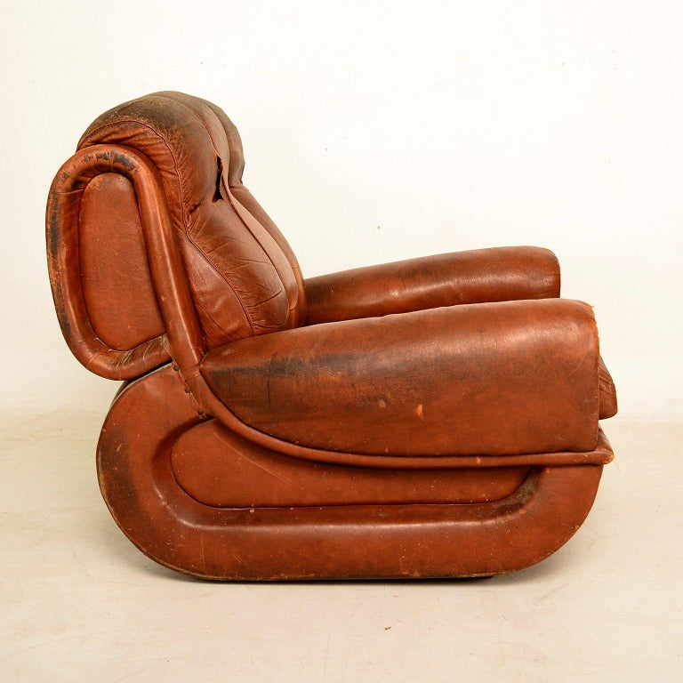 Mid-20th Century Art Deco Pair of French Armchairs For Sale