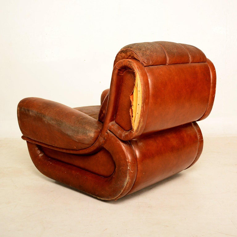 Art Deco Pair of French Armchairs For Sale 2