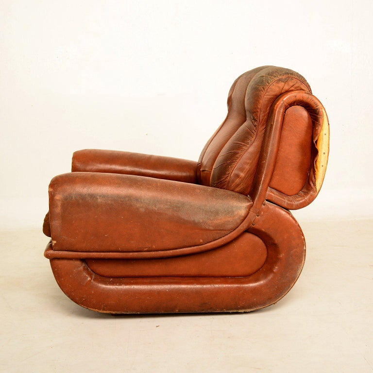 Art Deco Pair of French Armchairs For Sale 3