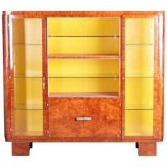 Art Deco Palisander Display Cabinet